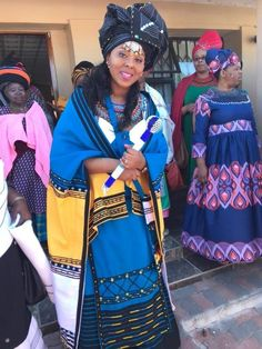 Xhosa Attire, African Attire, African Wear, African Women, African Dress, African Traditional Wedding Dress, Traditional Wedding Attire, Traditional Weddings, African Print Fashion