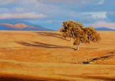 George+Lockwood's+Daily+Paintings:+Chance+of+Rain++5x7