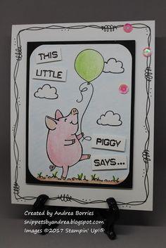 Snippets: Sneak peek: This Little Piggy