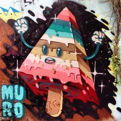 #StreetArt by Murocracia in Paris