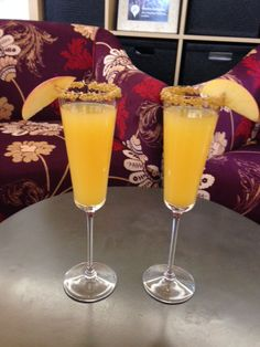 Cocktails - Apple Cider Mimosa