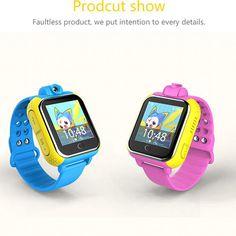 Neue Smart uhr Kinder Armbanduhr Q730 3G GPRS GPS Locator Tracker Anti-verlorene Smartwatch Baby Uhr Mit Kamera für IOS Android //Price: $US $44.99 & FREE Shipping //     #smartwatches