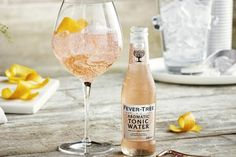The Pink Gin and Ton