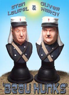 BUY: Laurel and Hardy Beau Hunks Busts