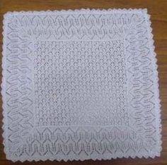 This vintage knitting pattern creates an adorable knitted baby shawl. Crochet Baby Shawl, Crochet Baby Blanket Free Pattern, Baby Knitting, Vintage Knitting, Free Knitting, Vogue Knitting, Crochet Granny, Loom Knitting, Vintage Crochet