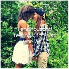 Ten Thousand Feelings, For Just One Girl