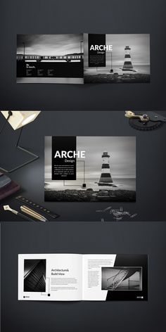 Amazing Landscape Brochure Templates For Corporate Business - Orlando Verring Magazine Architecture, Architecture Design Concept, Detail Architecture, Landscape Architecture Portfolio, Plans Architecture, Creative Architecture, Portfolio D'architecture, Design Portfolio Layout, Magazine Layout Design