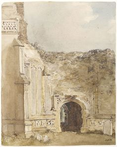 East Bergholt Church: north archway of the ruined tower | V&A