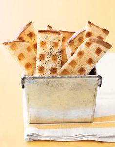put toast in waffle iron