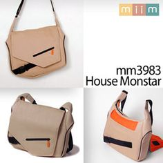 73,470 G마켓 - [miim]미임 MM3983 14인치 노트북가방/House Monstar/심플스타일/맥북/메신저백/방수코팅/다양한 수납공간