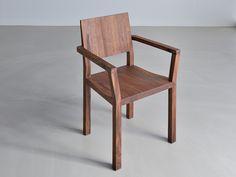 Sedia in legno con braccioli TAU | SEDIA CON BRACCIOLI - VITAMIN DESIGN