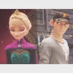 xxx Snow Queen xxx — ❄️Tadashi looking at each other❄️
