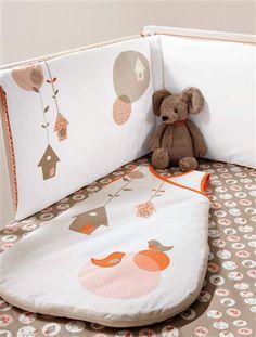 Tour de lit bébé collection bio NICHEO, Puériculture