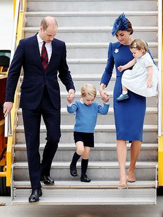 The Royal Fab 4 Take Canada! William, Kate, George and Charlotte Touch Down for Their Big Tour  The British Royals, The Royals, Kate Middleton, Prince George, Prince William, Princess Charlotte