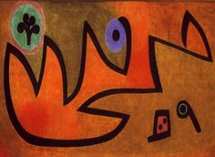 Paul Klee - Fire source