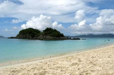 Beach at Trunk Bay, St. John