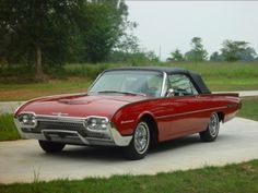 1962 Ford Thunderbird, The Official 60's Site-Automobiles of the 60s Decade