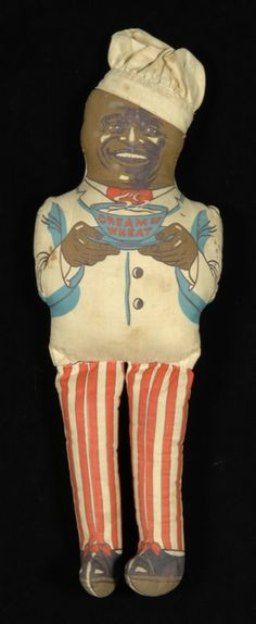 Cream of Wheat Cereal, Cream of Wheat Company, Minneapolis, Minnesota, circa Cloth doll Minnesota Historical Society, Cream Of Wheat, Minneapolis Minnesota, Old Dolls, Paper Dolls, Ronald Mcdonald, Doll Clothes, Cereal, Search