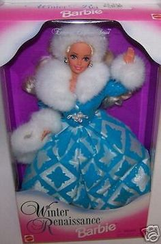 Winter Renaissance Barbie Doll Evening Elegance Series NIB #Mattel #Dolls