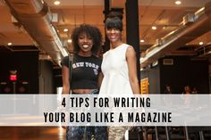 Change your approach to your blog's content & embrace a more magazine-like style