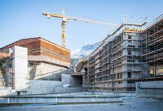 Alpine Village, Louvre, Construction, Building, Travel, Design, Flims, Viajes, Buildings