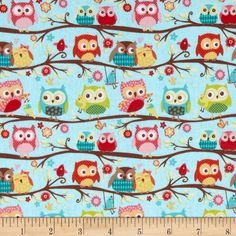 Designed by Kelly Panacci for Riley Blake Fabrics, this lightweight stretch cotton jersey knit fabric features a smooth hand and about four way stretch- 40% across the grain and 25% vertical. It is perfect for making t-shirts, loungewear, baby and children's apparel, and more! Colors include olive, turquoise, red, gold and brown on a light blue background.