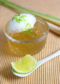 Lemon Grass Jelly by køkken69, via Flickr