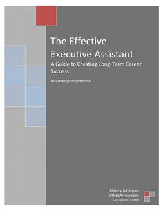 The-Effective-Executive-Assistant by HRM-HCM Management via Slideshare/LinkedIn