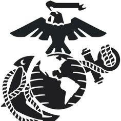 marine corps emblem clip art usmc logo clip art art rh pinterest com marine corps clipart logos marine corps clip art graphics