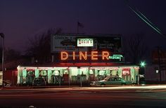 Lodi (Bergen County) - The diner was located on the Little Ferry Circle and was best known for a series of Bounty paper towels commercial starring Nancy Walker.