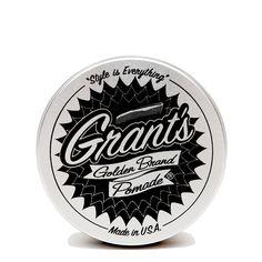 Golden Brand Pomade - packaging