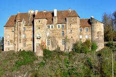 Boussac Castle, Limousin