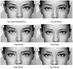 The way you do your eyebrows can completely change how your faces looks and what do you transmit to the people you meet. They can make your nose and eyes