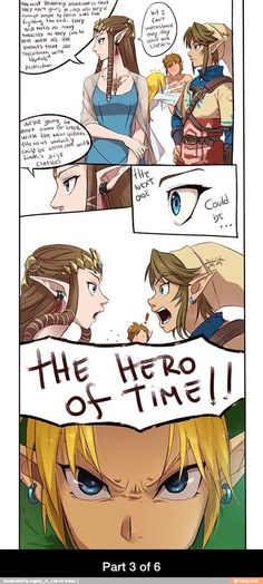 Hyrule warriors comic page 3