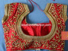 Beautiful Designer Saree Blouses photo