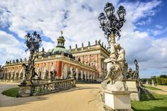Neues Palais in Potsdam, Germany jigsaw puzzle in Puzzle of the Day puzzles on…