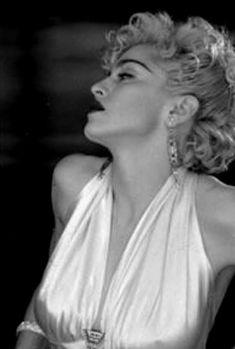 """Madonna on set of Vogue, 1990 """
