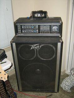 Peavey Mark IV bass amp I own.