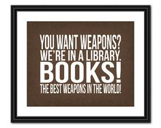 ❥ You want weapons?