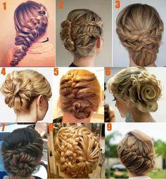 Verschillende stylen