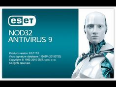 ESET Nod32 Antivirus 9 License Key 2017 Free Download (Updated) ESET Nod32 Antivirus 9 Username and Password 2017: Today, I would like to share working License keys for ESET NOD32 9. These keys are…