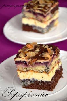 Polish Desserts, Polish Recipes, Cookie Recipes, Dessert Recipes, Cheap Easy Meals, Czech Recipes, Ukrainian Recipes, Best Food Ever, No Bake Cake