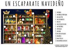 LA NAVIDAD   PARA LOS MÁS PEQUEÑOS     No hay duda de que a los niños les encanta la Navidad. Por eso os propongo las siguientes fichas na...