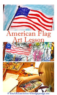 A fun, celebratory art lesson for all ages! Any time is a great time for a patriotic art project. Flag Day, Memorial Day, Independence Day and Veteran's Day. You can create a beautiful American flag with this American Flag Chalk Pastel Art Tutorial! Chalk Pastel Art, Chalk Pastels, Art Curriculum, Homeschooling Resources, Teaching Resources, Lessons For Kids, Art Lessons, American Flag Art, 2nd Grade Art