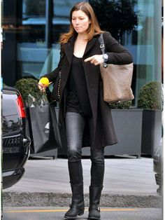 Frye 12R Engineer Boot in Black as seen on Jessica Biel and Miley Cyrus