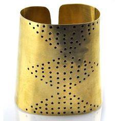Brass Cuff.