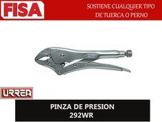 PINZA DE PRESIÓN 292WR. Sostiene cualquier tipo de tuerca-  FERRETERIA INDUSTRIAL -FISA S.A.S Carrera 25 # 17 - 64 Teléfono: 201 05 55 www.fisa.com.co/ Twitter:@FISA_Colombia Facebook: Ferreteria Industrial FISA Colombia