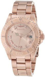 b8685aa74d6 Invicta Women s 12821 Pro Diver Rose Dial Diamond Accented Watch Montres