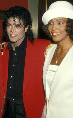 Making the Scene with Michael Jackson from Whitney Houston: A Life | E! Online