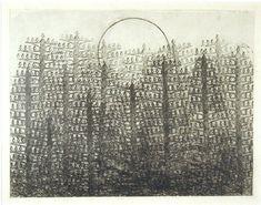 Max Ernst - Foret et soleil 1931 frottage sur papier Max Ernst, Collage, Illustration, Texture Art, Paper Texture, Art Plastique, Abstract Landscape, Abstract Expressionism, Oeuvre D'art